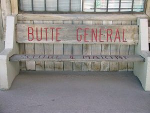 butte general store bench