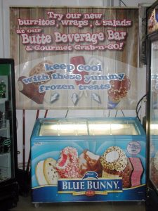 beverages bar and gourmet grab and go options at butte general store