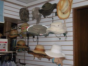 sun hats for sale at elephant butte
