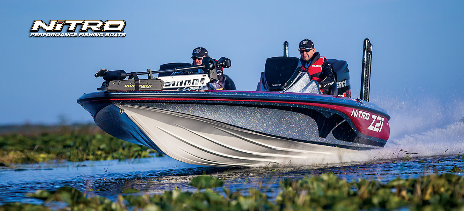 Nitro Z Series fishing boat